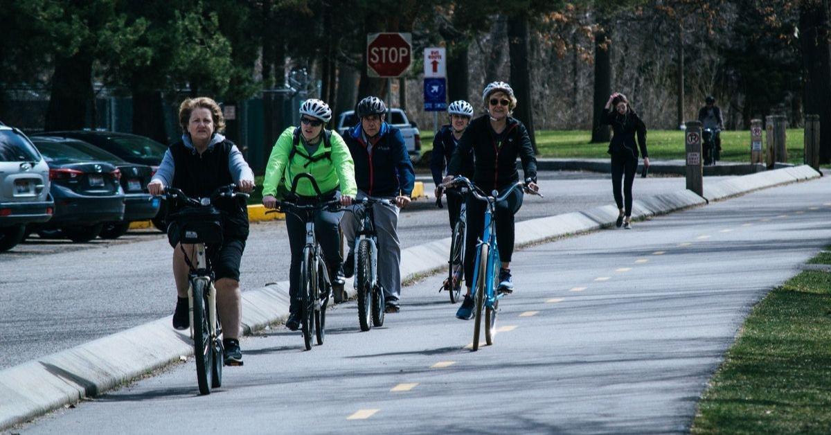 Rekreacyjni rowerzyści