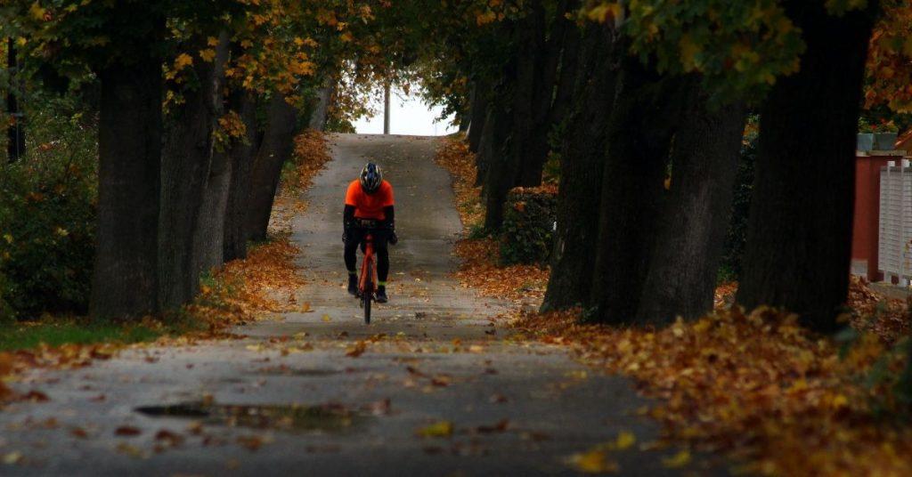 Kolarstwo jesienią
